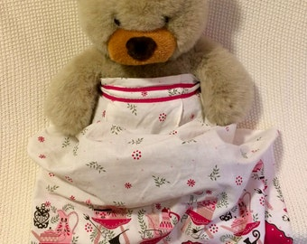 Holiday Tea Time 1950s Apron