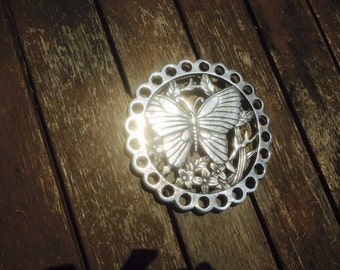 Polished Butterfly Trivet/Hot Plate Stand