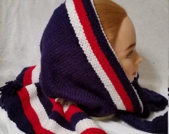 Lady's Wool Bonnet Hood