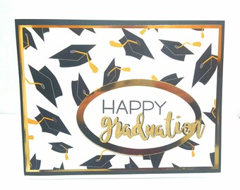 Happy Graduation Card, Grad Card, Handmade graduation card