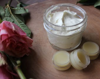 Natural Orange Body Butter with Organic Ingredients