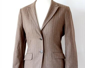 Vintage Austin Reed Wool Blazer jacket UK Size 12
