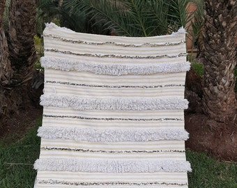 stunning moroccan wedding blanket vintage handmade