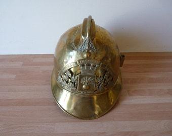 Old Berkeley fire chief helmet