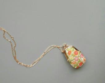 Mini purse necklace,mini kiss lock necklace,Boho jewelry,kiss lock frame bag, blythe bag,kiss lock bag purse,Accessories,Keychains,Lanyards