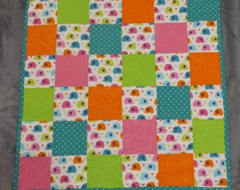 Bright Elephant Quilt **ON SALE**