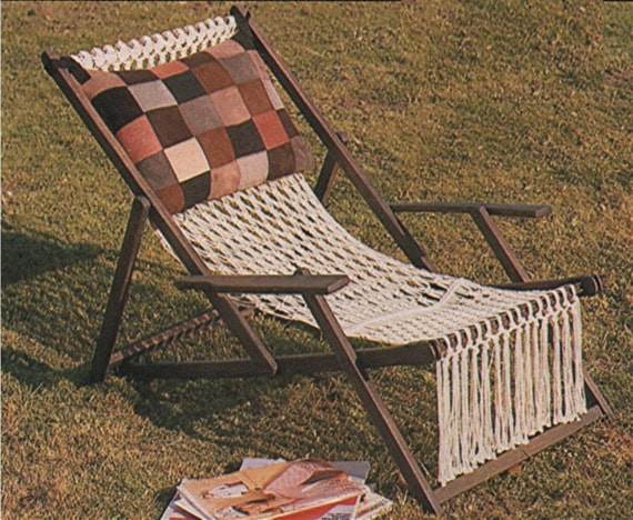 macrame lawn chair patterns deckchair cover pdf macrame pattern deck chair lawn chair 2386