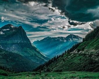 Shedding Light on Glacier National Park- Landscape Photography