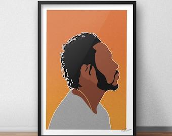 Kendrick Lamar INSPIRED Print / Poster