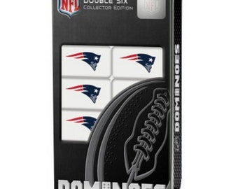 NFL New England Patriots Dominoes