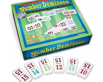 Professional Size Double 15 Number Dominoes