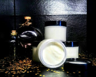 Witch's Brew - Green Tea Moisturizer - lotion - extremely dry skin - matcha - organic - natural - body butter - green tea butter - argan oil