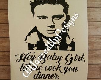 Channing Tatum and Ryan Gosling Crockpot Vinyl Decals
