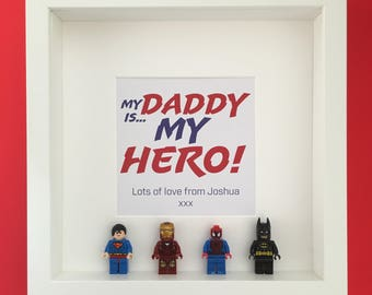 Mini Superhero Personalised Frame