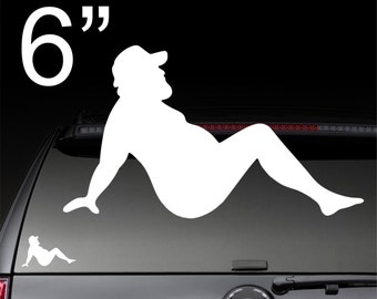 window decals of nude girls