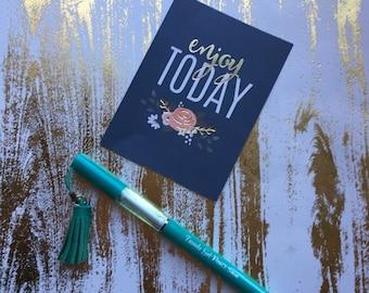 Tassel Gel Pen - Turquoise