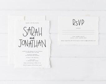 Wedding Invitation Suite, Wedding Invitation Set, Wedding Invitation Printable, Wedding Invitation Rustic