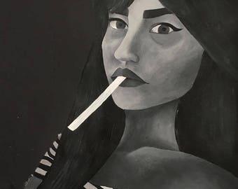 custom acrylic portraits