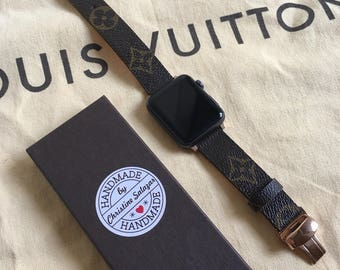 Customize Louis Vuitton Apple Watch Band Monogram