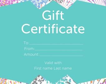 Lularoe gift certificate | Etsy