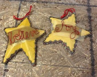 Handmade Star Ornaments
