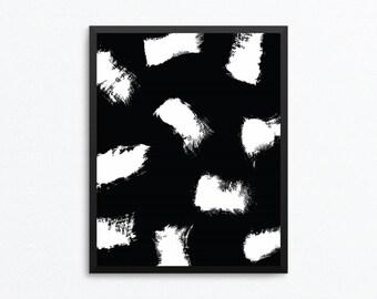 Abstract Digital Print, Modern Print, Modern Art, Minimalist Art, Black and White Art, Abstract Print, Abstract Printable, Digital Print
