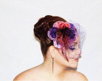 Purple Grapes - Saraden Designs Millinery