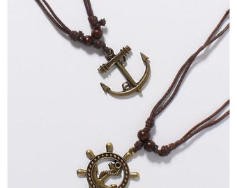 Gold Nautical Necklace