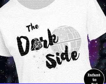 Women's Star Wars Shirt, Darth Vader Shirt, Darth Vader Tee