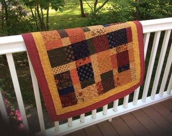 Handmade quilted country wall hanging