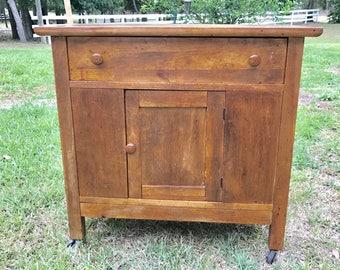 Attractive Antique Wash Stand, Wood,