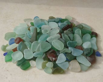 300gms mixed quality nuggets, Sea Glass Nuggets, Bulk Sea Glass, Sea Glass Supply, Craft Supply, Mosaic Supply, Jewelry Supply, Sea Glass