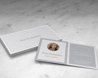 Business card , Simple and clean minimalist business card