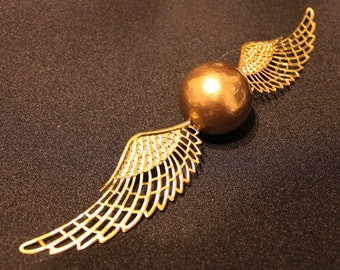 Harry Potter inspired Golden Snitch Christmas Decoration