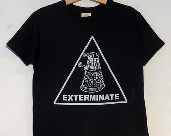 Exterminate Dalek Kids Organic Cotton T-Shirt