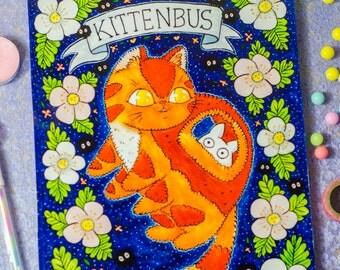 Cat bus print