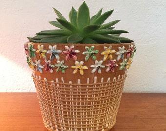 Flowerpot * flower pot * 1950-1960 *.