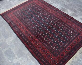 Afghan Tribal Baluch Vintage rug Dawlat abad rug