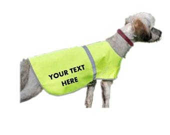 Personalised Hi Vis vest for dog