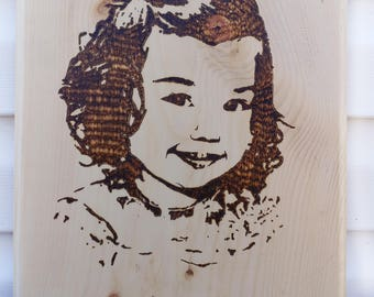 Custom Wood Art | Family Portrait | Wood Burning | Wood Portrait | Pyrography Art | Personalized Gift | Family Gift | Unique Gift