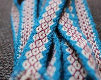 Tablet woven viking belt
