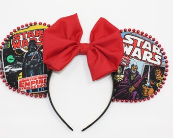 Disney Ears Star Wars Comic Book