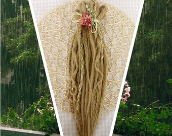 """Double Ended Synthetic Dreads """"Light boho Set"""" by Afromod"""