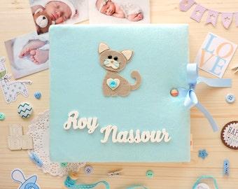 Baby Photo Album, Baby Memory Book, My first photo album, Personalized Baby Album, Scrapbook Album, Детский Альбом