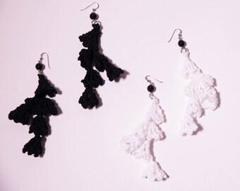 Earrings, crochet Earrings, earrings, accessories for women, cotton crochet earrings, earrings, Fashion, Crochet, crochet Jewelry