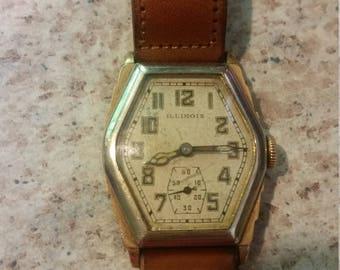 Rare! Vintage Illinois Ritz Watch
