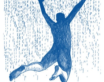 as rain bothers you, you can always jump into the sea/if rain bothers you, you can always jump into the sea
