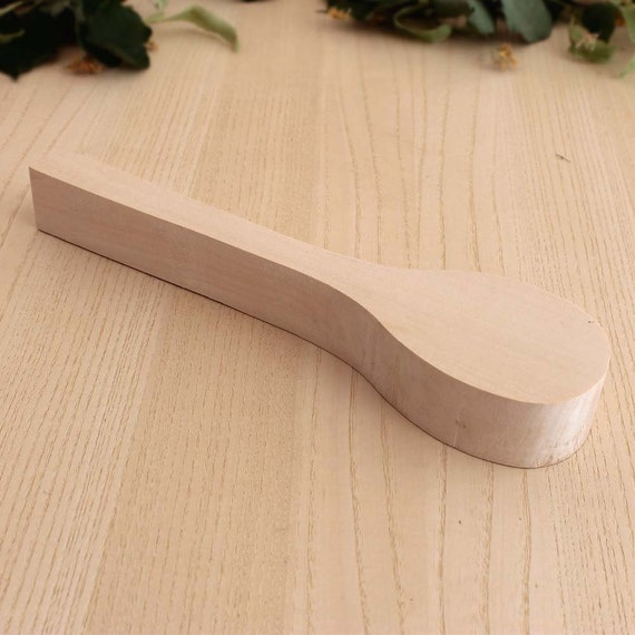 Wooden spoon carving blank wood