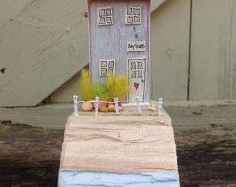 Amethyst and Emerald...driftwood cottage