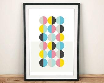 Buttons (A3 Art Print)